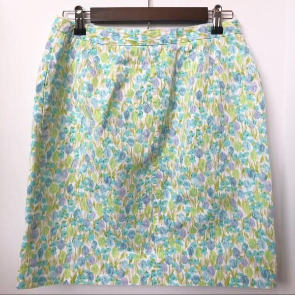 Liz Claiborne Dresses & Skirts - Liz Claiborne Floral Watercolor Skirt • Size 10